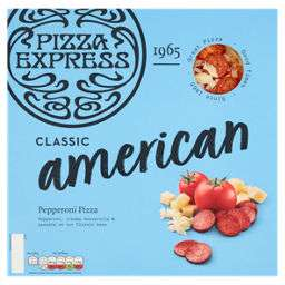 Pizza Express large American 458g and Margherita 447g £2 instore Asda Norwich