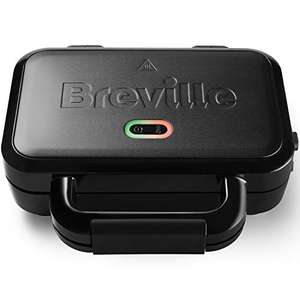 Breville Ultimate Deep Fill Toastie Maker, Removable Non-Stick Plates   Stainless Steel   Black - £21.06 delivered @ Amazon