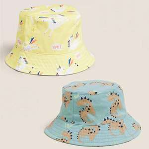 2 for £10 on Kids Summer Hats + Free click & collect @ Marks & Spencer