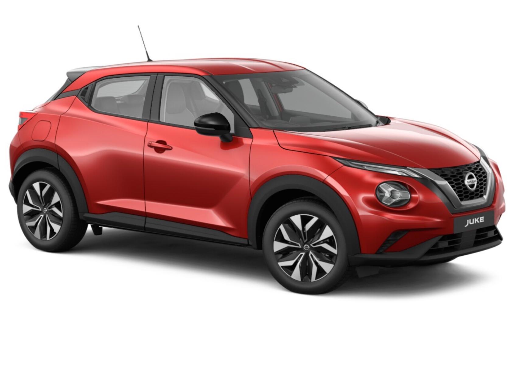 24 month lease - Nissan Juke Hatchback 1.0 DiG-T 114 Acenta 5dr - 8k miles p/a - £186pm + £557 initial = £4823 @ Whatcar (Nissan Holdcroft)