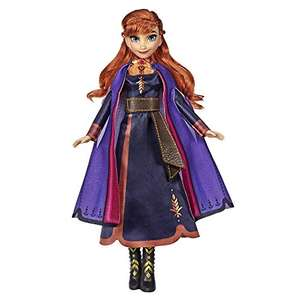 Disney Frozen Singing Anna Fashion Doll with Music Wearing a Purple Dress Inspired by Disney Frozen 2 £9.50 + £4.49 Non Prime @ Amazon