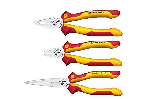 Wiha Z99000106 Set of Pliers Professional Electric, 3 Piece, Red £38.10 @ Amazon