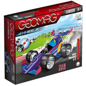 Geomag Wheels: Team Rush Magnetic Construction Set now £6 (£1.99 collection) @ The Works