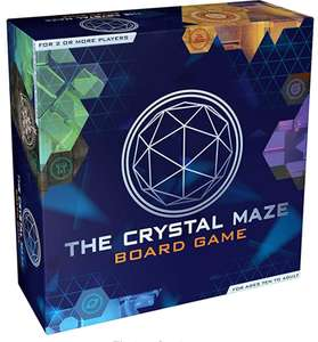 The Crystal Maze Board Game £10.12 + £4.49 Non Prime @ Amazon