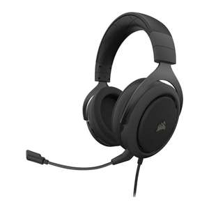 Corsair HS50 Pro Stereo Carbon Wired Gaming Headset - Refurbished £39.98 @ Scan