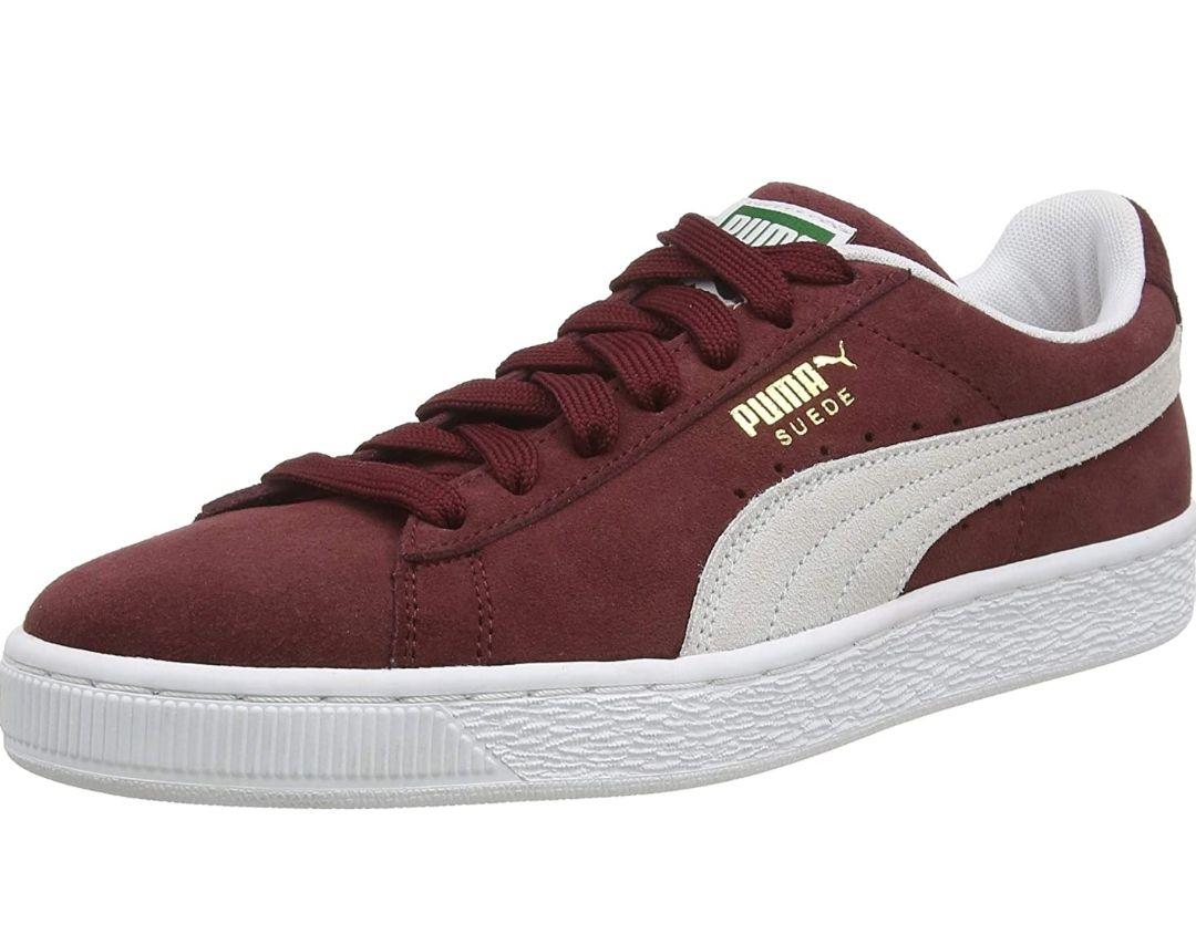 Men's Puma suede classic+ trainers size 4.5UK now £15.71 prime / £20.02 non prime at Amazon