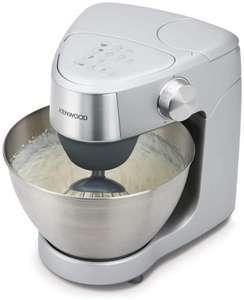 Kenwood Prospero Plus KHC29.A0SI Stand Mixer for Baking, Compact 4.3 Litre Bowl, 3 Bowl Tools, 1000W, Silver £99.61 @ Amazon