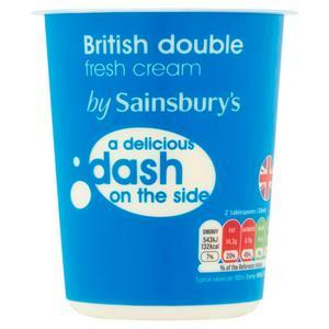 Sainsbury's - Double Cream 300ml 85p @ Sainsbury's