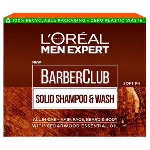 L'Oreal Paris Men Expert Barberclub Solid Shampoo & Wash - £3.48 @ Superdrug