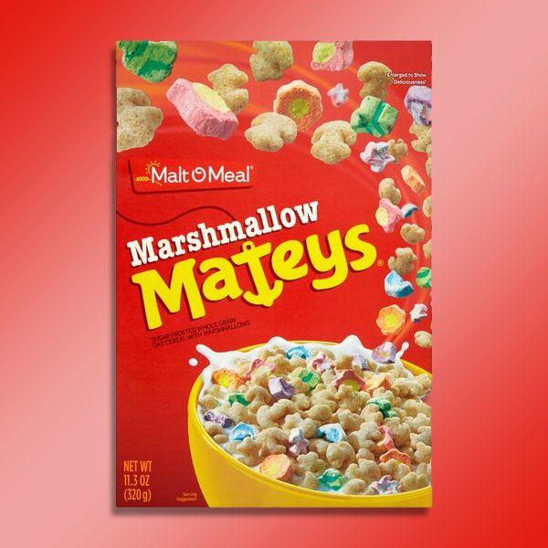 Marshmallow Mateys 7 X 320g £8 - Best Before 04/07/2021 @ Yankee Bundles