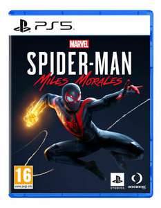 PlayStation 5 : Marvel's Spider-Man: Miles Morales used - £21.44 with code @ musicmagpie / ebay