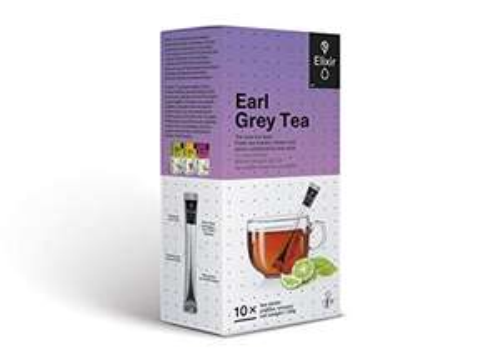 Elixir Tea Earl Grey 20 Tea sticks 40g total (2 boxes of 10) - £1.07 (+£4.49 Non-Prime) @ Amazon