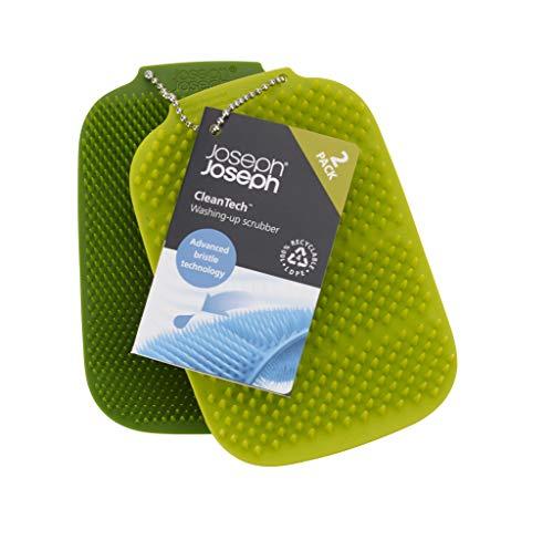 Joseph Joseph 85156 Cleantech 100% Recyclable Washing-Up Scrubber (2pk) - £2.98 (Free p&p with Prime or £4.49 p&p Non-Prime) @ Amazon