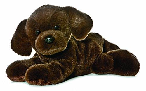 Mini Flopsie Lil Lucky Chocolate Labrador, Soft Toy, Brown - £3.40 (+£4.49 Non-Prime) @ Amazon