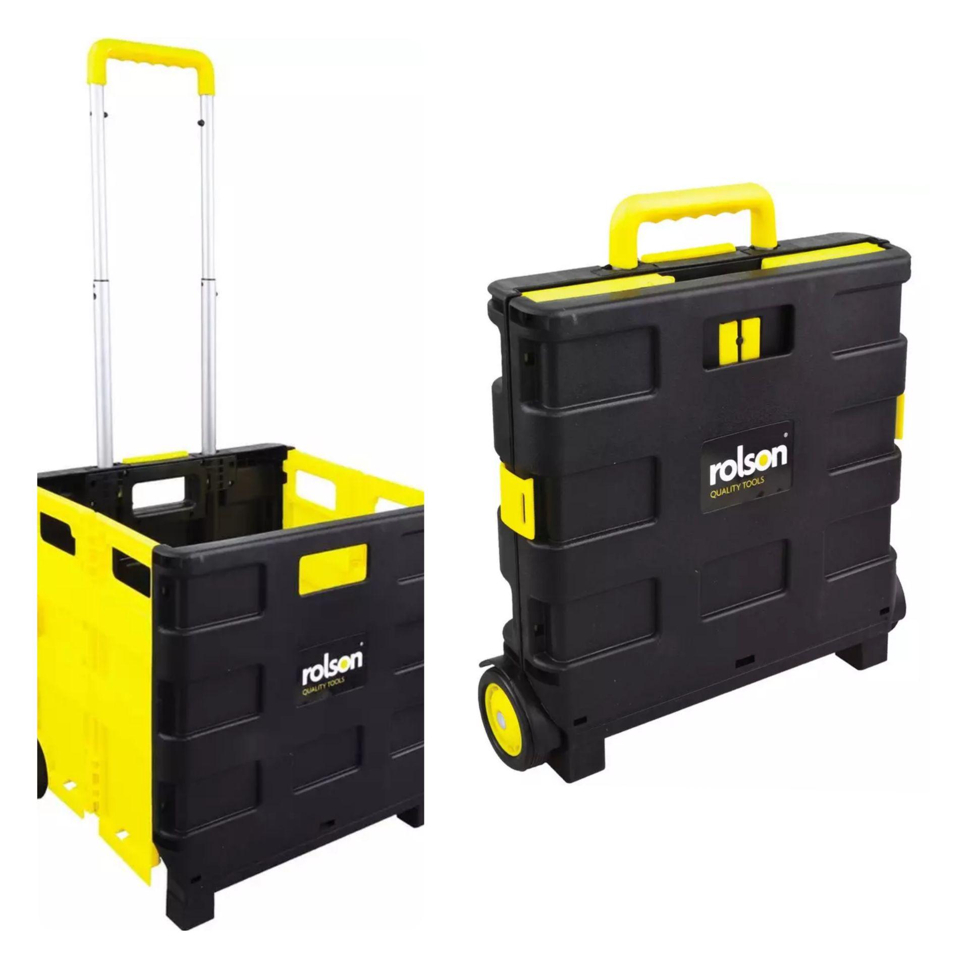 Rolson Rol-Xtra 68900 Folding Boot Cart, 25 kg - £10.94@ Amazon (£4.49 p&p non Prime)