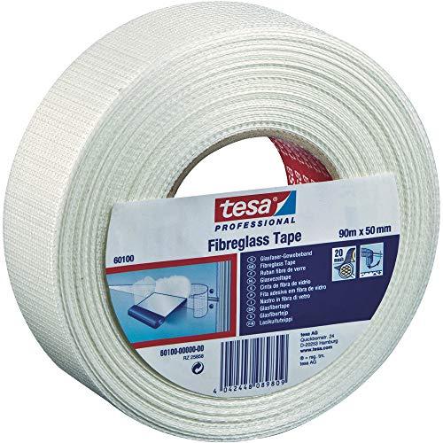tesa 60100 Fibreglass Joining And Plastering Scrim Tape, 50 mm x 45 m - £4.55 (+£4.49 Non-Prime) @ Amazon