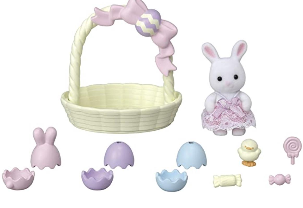Sylvanian Families Hoppin' Easter Set - £9.48 (+£4.49 Non-Prime) @ Amazon
