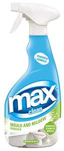 Max Clean Mould and Mildew Cleaner 500ml - 81p Amazon + £4.49 NP