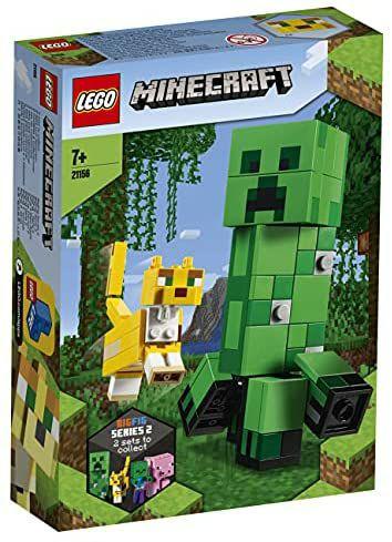 LEGO Minecraft 21156 BigFig Creeper & LEGO 21157 BigFig Pig Figures - £12.99 Each (+£4.49 Non-prime) @ Amazon