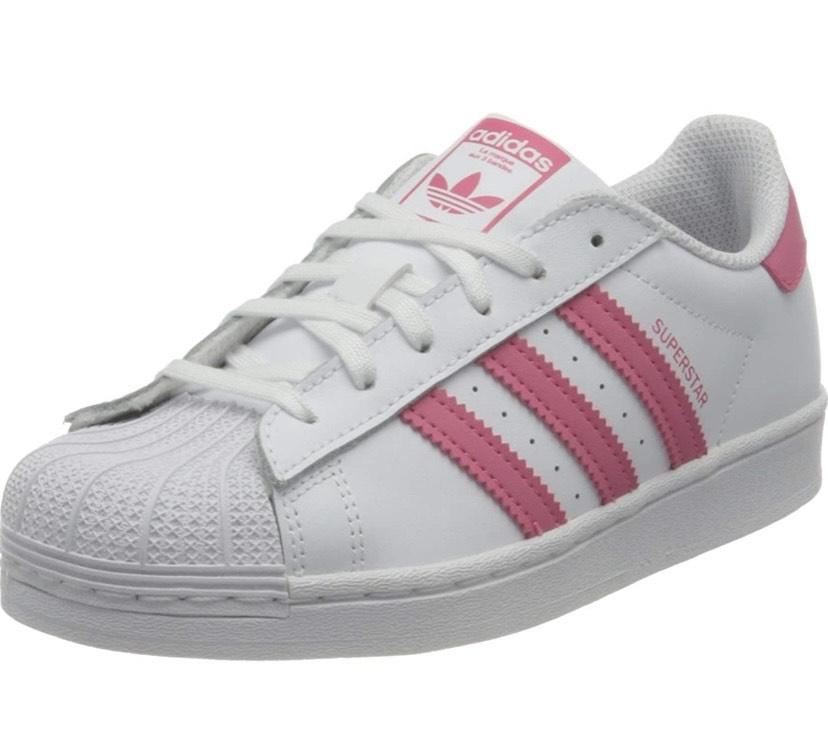 Adidas Superstar pink size 5.5 £13.32 Amazon Prime (+£4.49 Non Prime)