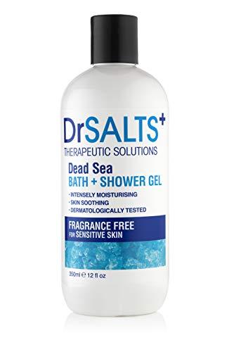 DRSALTS Dead Sea Salts Fragrance Free Bath & Shower Gel 350ml For Sensitive Skin £2.99 Amazon Prime (+£4.49 Non Prime)