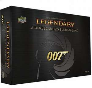 Legendary: A James Bond Deck Building Game £31.95 with code @ Chaos Cards