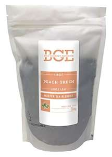 Bulk Gourmet Emporium Finest Peach Green Leaf Tea Loose Leaf 200 g (Approx. 80 Cups) - £2.88 (+£4.49 Non-Prime) @ Amazon