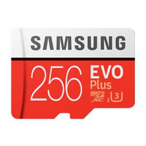 256GB - Samsung Evo Plus microSD Card (2020) - £14 delivered with code @ Samsung Shop