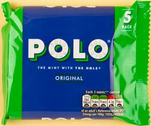 Polo Mints 5 Pack are 59p @ Jack Fultons Hyde