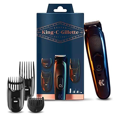 King C. Gillette Wireless Beard Trimmer, 3 Interchangeable Combs/All Beard Types £7.22 (VG) £7.60 (Like New) +£4.49 NP @ Amazon Warehouse