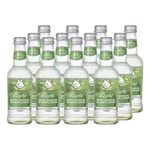 Fentimans Light Gently Sparkling Elderflower, 12 x 250ml Bottles - £8.78 (+£4.49 Non-Prime) @ Amazon