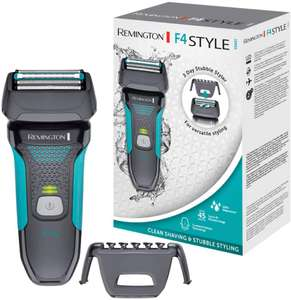 Remington F4 Style Series F4000 Rechargeable Cordless Electric Shaver Beard Trimmer Wet Dry Grey - £24.71 @ Amazon