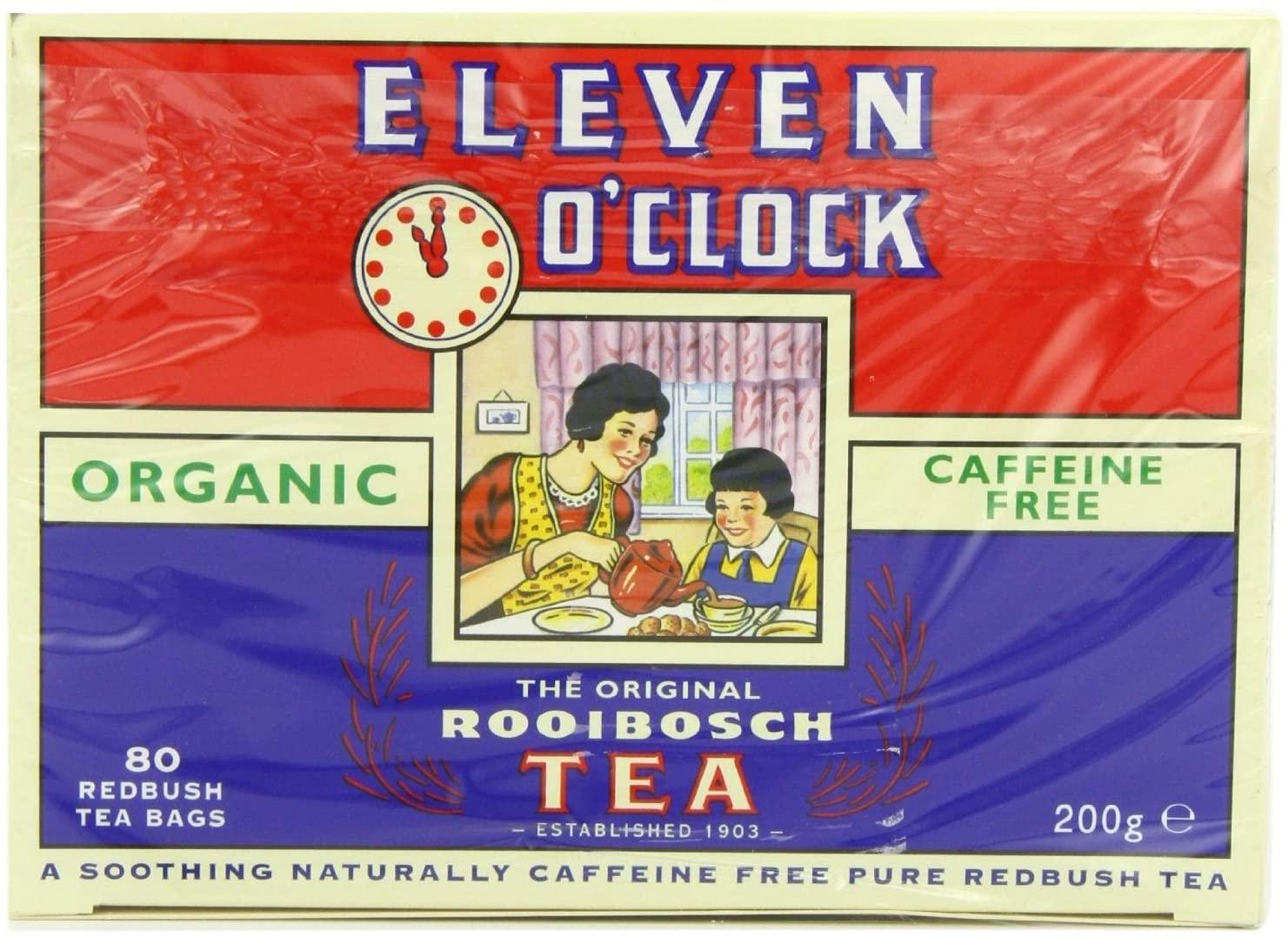 Eleven O'Clock Tea Organic Rooibosch Tea, 80 Tea Bags - £3.49 Prime / +£4.49 non Prime @ Amazon