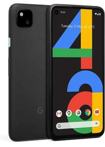 Google Pixel 4a Android Mobile Phone- Black, 128GB Smartphone - £267.68 (O2 Refresh) @ O2