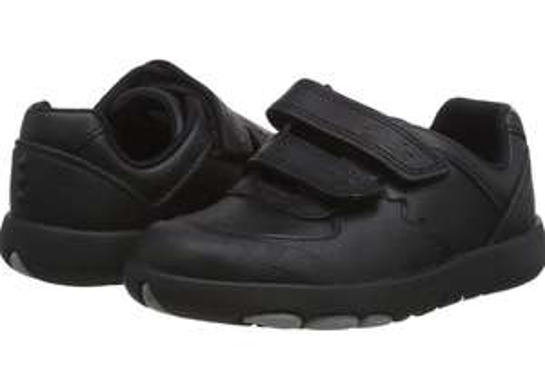 Clarks boy's rex pace t uniform shoes size 7 UK child - £9.74 Prime / +£4.49 non Prime at Amazon