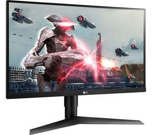 """LG UltraGear 27GL650F 27"""" Full HD IPS LCD Gaming Monitor, Black - £199 delivered @ Currys PC World"""