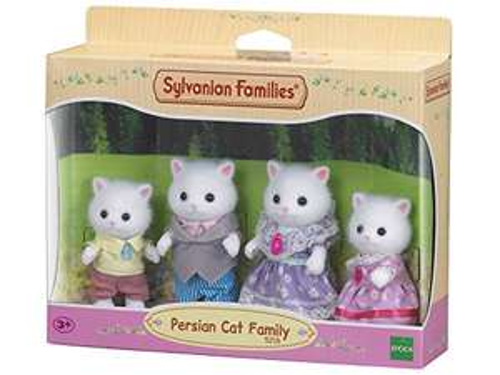 Sylvanian Families - Persian Cat Family Set - £10.62 (Prime) + £4.49 (non Prime) at Amazon