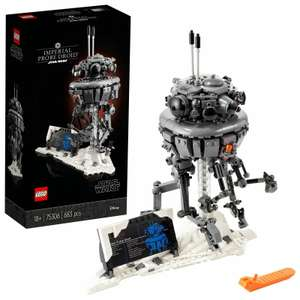 LEGO Star Wars 75306 Imperial Probe Droid Collectible Model for Adults £47.95 @ Velocity / Ebay