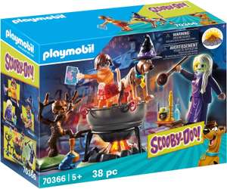 Playmobil 70366 SCOOBY-DOO!© Adventure in the Witch's Cauldron - £10.04 Prime / +£4.49 non Prime @ Amazon