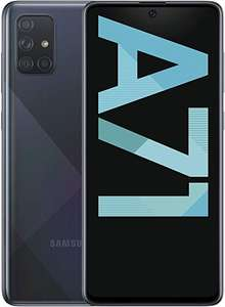 Samsung Galaxy A71 128 GB Black 4500 mAh Smartphone - £232.26 @ Amazon