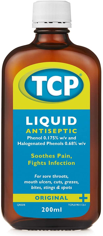 TCP Original Antiseptic Liquid - 200 ml - £2.56 / £2.43 S&S (Prime) + £4.49 (non Prime) at Amazon