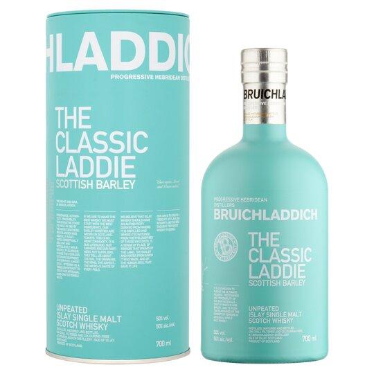 Bruichladdich Classic Laddie single malt whisky 70cl - £35 Clubcard Price @ Tesco