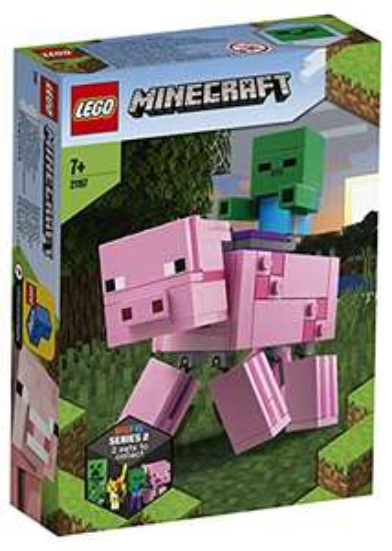 LEGO 21157 Minecraft BigFig Pig - £12.99 Prime / +£4.49 non Prime @ Amazon
