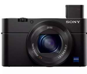 SONY Cyber-shot DSC-RX100 III High Performance Compact Camera - Black - £312.56 delivered using code @ currys_clearance / eBay (UK Mainland)