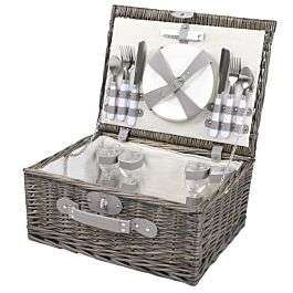 Monaco 4 Person Picnic Hamper - Grey now £35 + free click and collect / £4.95 Delivery @ Robert Dyas (UK Mainland)