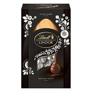 Lindt Lindor 60% Dark Chocolate Egg 260g Reduced to £3.88 Prime + £4.49 NP @ Amazon