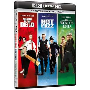 The Cornetto Trilogy [Shaun of the Dead/Hot Fuzz/The World's End] (4K Ultra HD + Blu-ray) - £19.99 Delivered @ TheEntertainmentStore / eBay