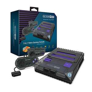 Hyperkin RetroN 2 HD console for NES /Super NES/ Super Famicom (Space Black) £57.70 delivered UK Mainland (Sold by Amazon US) @ Amazon