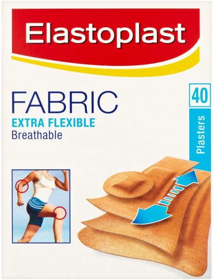 Elastoplast Fabric Extra Flexible Breathable 40 Plasters £1.70 @ Amazon (£4.49 p&p non prime)