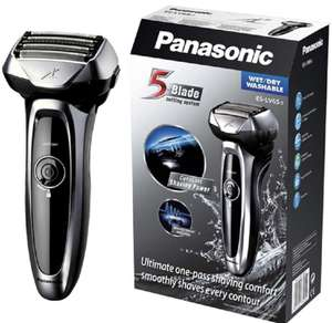 Panasonic ES-LV65-s Wet and Dry Electric 5-Blade Shaver - £79.99 (+£4.49 non-Prime) @ Amazon